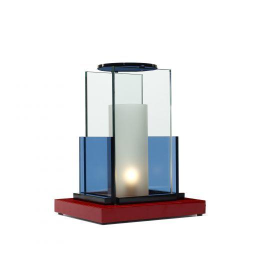 WWright-MARTINE BEDIN Olympia table lamp  Memphis Italy, 1985