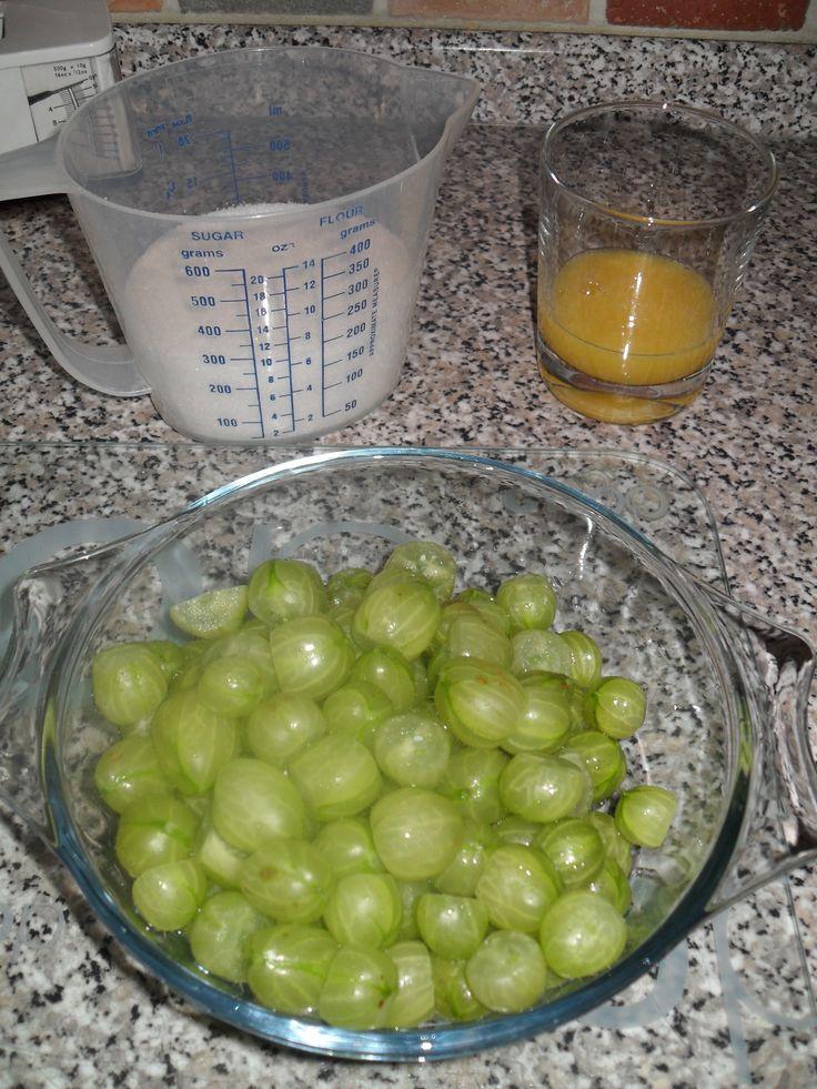 Gooseberry Jam Recipe