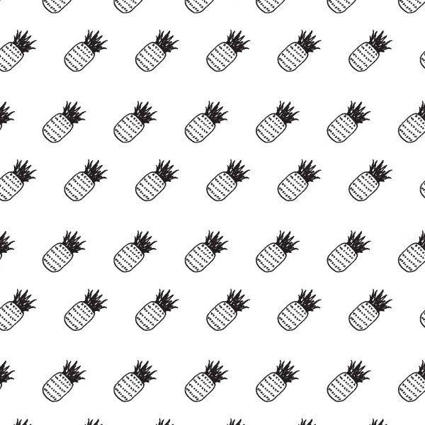 burst +co. git cards pineapple pattern