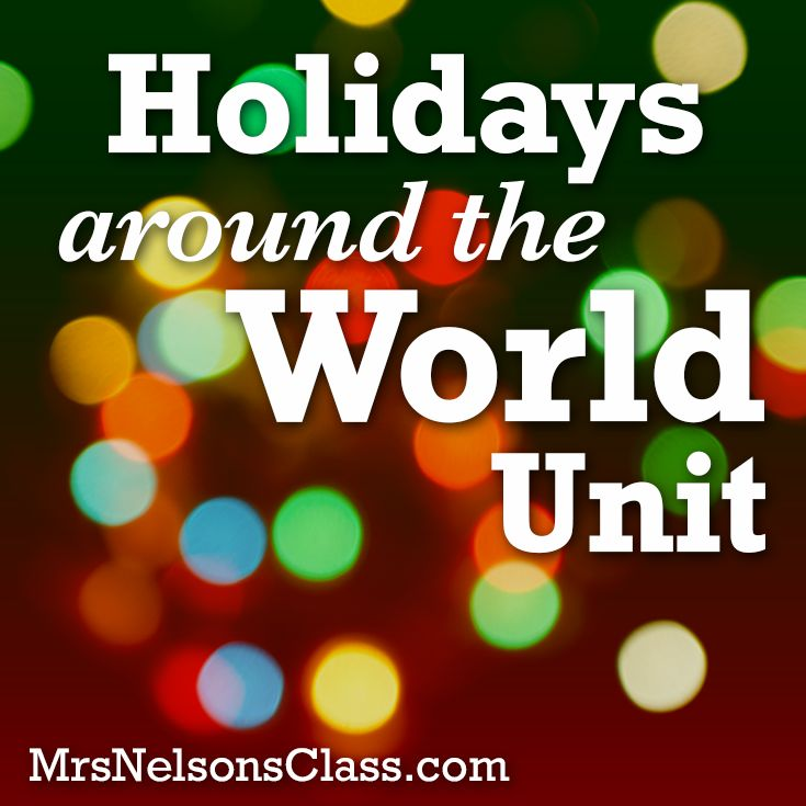 """This was an interesting unit set-up on """"visiting"""" countries around the world and viewing their holiday traditions. While it may have (literally) taken a tourist approach, it has some good base ideas for introducing the unit, as well as interesting activities regarding a passport or suitcase for the students to record information they've learned."""