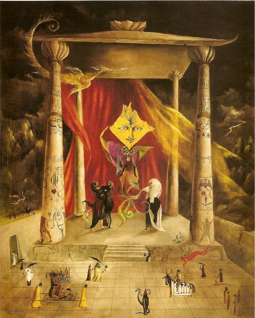 Leonora Carrington | Temple of the Word by | 1954