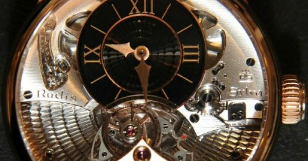 Rudis Sylva RS12 Grand Art Horloger - It isn't named after a watchmaker, but after the pine forrest near the village of Le Bois, located 10 miles f… | Pinteres…