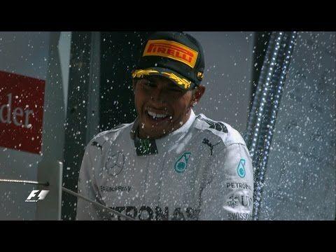 2014 Formula 1 Santander British Grand Prix - YouTube