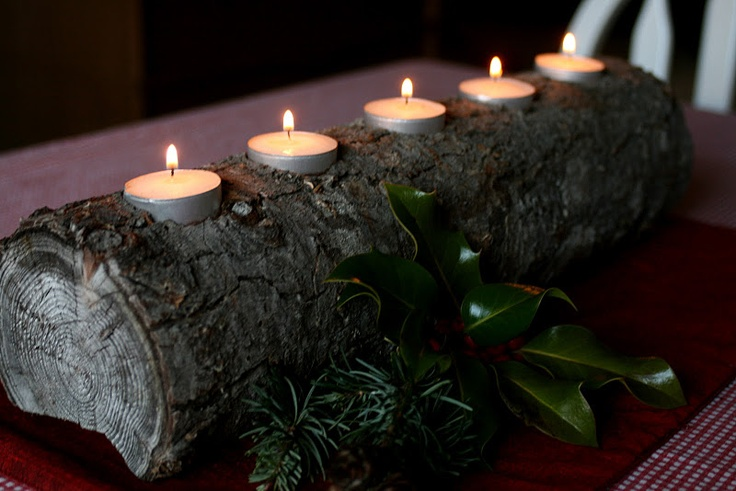 195 best eagle scout images on pinterest boy scouting for Log candles diy
