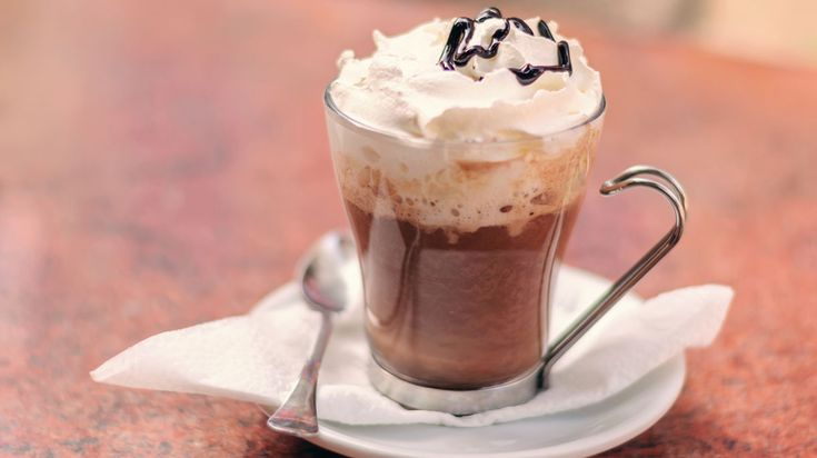 Kruidige koffie-chocodrank