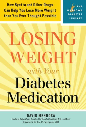 Choosing medications for people with diabetes involves consideration of a number of factors, including effects on weight.  Improvements in glucose control are often linked to weight gain, but this does not have to be the inevitable result of diabetes treatment.  Adding a drug that either promotes weight-loss or is weight neutral to one that promotes weight gain should be considered.