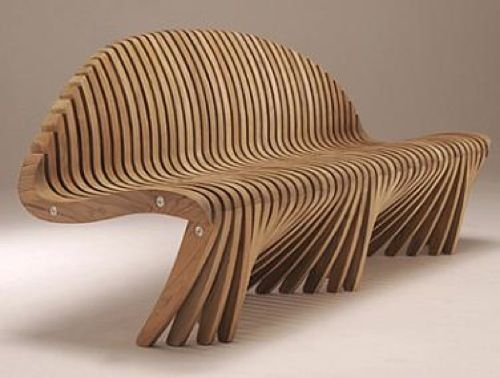 Spirit Song Wing-Wing Straight Back Bench