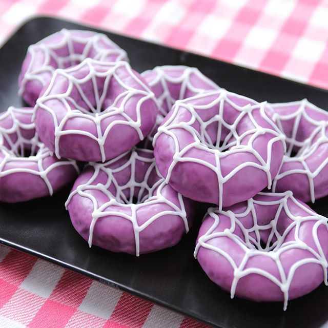 """We made """"Spider Donuts"""" from the video game Undertale!"""