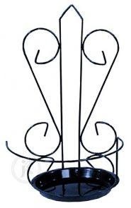 Decoart24.pl Ozdobny kwietnik, który będzie doskonałym rozwiązaniem na upiększenie Twojego wnętrza. Produkt wykonany ze stali przez to zyskuje na stabilności oraz jakości. Kwietnik sprawdzi się również świetnie jako ozdoba balkonowa. Produkt pakowany jest po 5 sztuk, podana cena jest ceną za opakowanie (5sztuk).