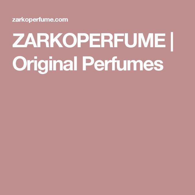 ZARKOPERFUME | Original Perfumes v Le Chic parfumerii na Venturskej