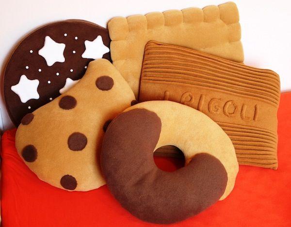 Almohadas de galletas