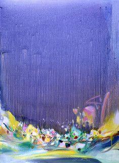 Chu Teh-Chun, Heures sans ombres, 2001
