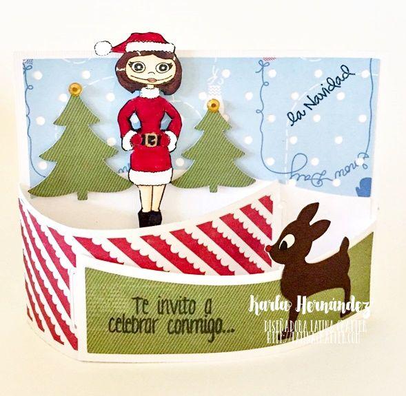 I ♥ SCRAP: Blog Hop Navidad en Julio con Latina Crafter