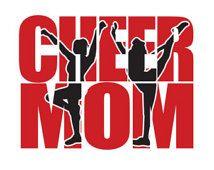 Cheer moeder Shirt - Custom - uw Team kleuren geest Cheerleader moeder T-Shirt