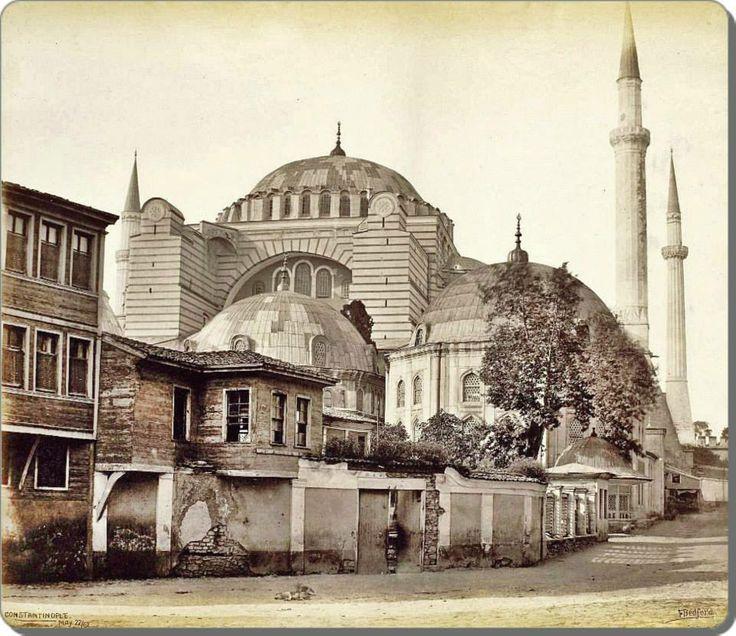 Hagia Sophia-Ayasofya - 1862 -Francis Bedford