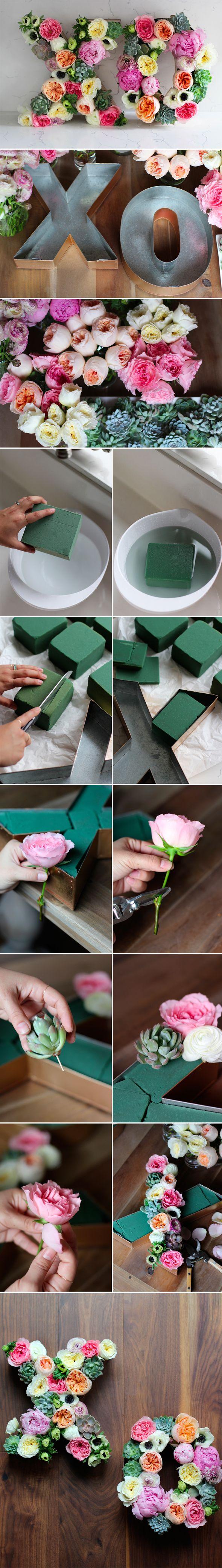 Minha irmã Suzy me enviou essa inspiração de DIY há alguns dias atrás, e eu não poderia deixar de compartilhar com vocês! Preparem-se por que é muuuuito lindo e muito fácil gente:) Que tal criar um...