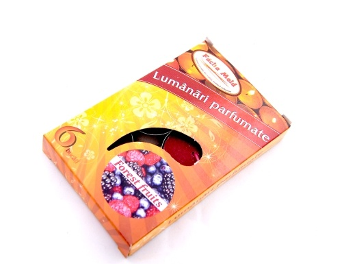 Lumanari parfumate 6/set Forest Fruits | Misavan Curatenie