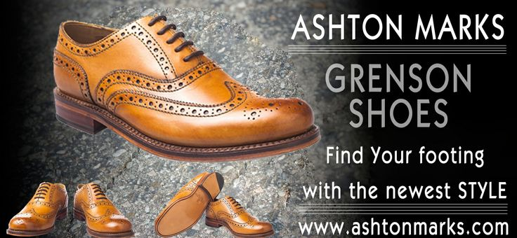 Find the stylish collection of Men's footwear Ashton Marks #grensonshoes . more info visit:http://bit.ly/1o0n7nf