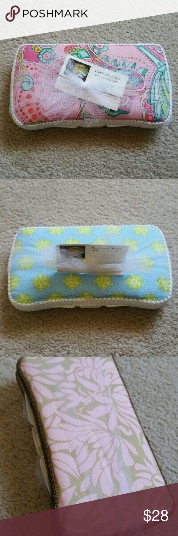 Custom wet wipe case New and handmade. Smoke free home. Other
