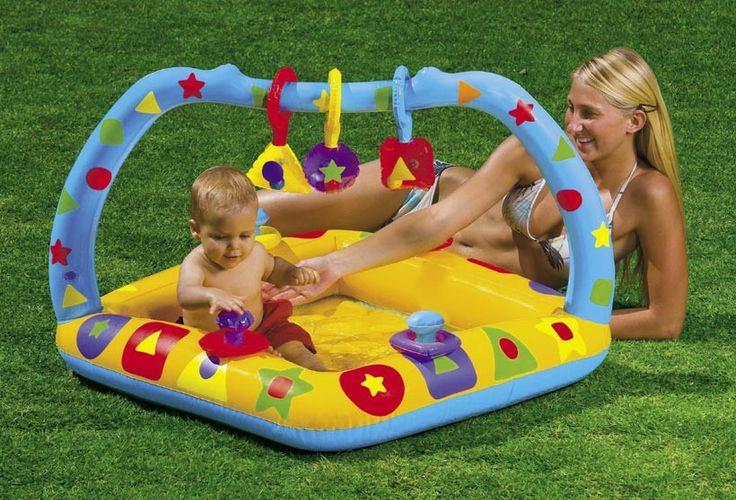 baby beach gear | Intex Play'N Learn Baby Pool | Island Beach Gear