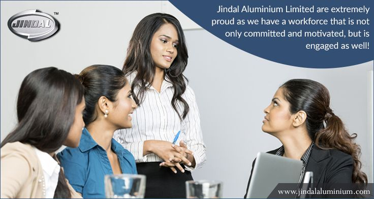 Engagement is closely associated with job involvement and work flow and we at JAL are extremely proud as we have a workforce that is not only committed and motivated, but is engaged as well! Join the JAL family and submit your resume @ http://www.jindalaluminium.com/jindal-hr-homepage.php  #JAL |  #EmployeeEngagement