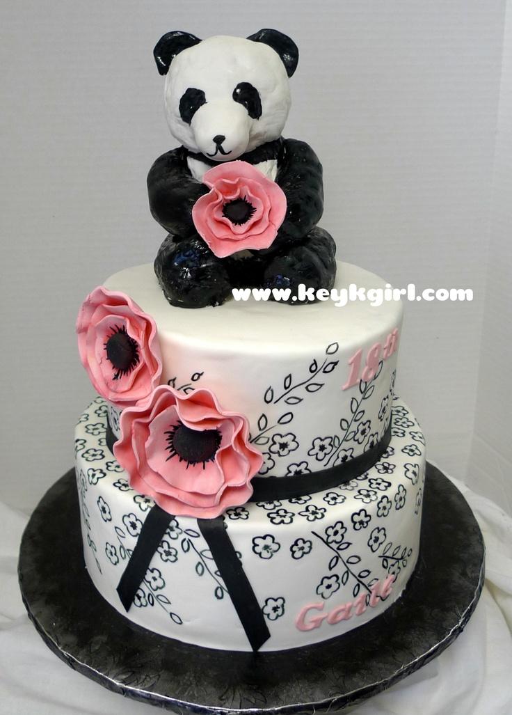 panda cake - love!!