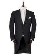 Cutaway Jacket... Black Vest &Black Euro Tie