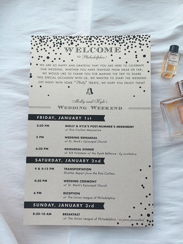 The 25+ best Wedding agenda ideas on Pinterest Housing list - wedding agenda