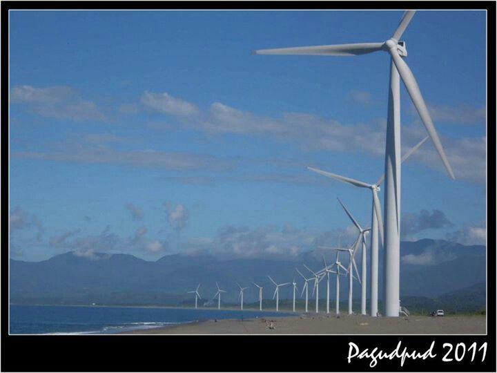 Bangi Windmills Ilocos Philippines