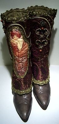 bootspats:    Newest Mucha Spats Creation by ~MAIDESTREASURIES