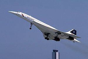 concorde .......This was the most amazing flight that I have ever taken, and the quickest to London!