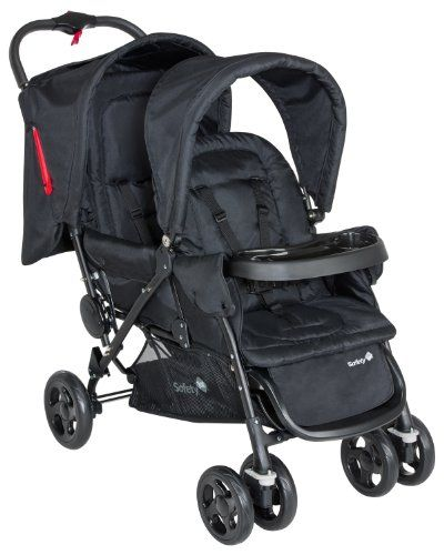 Safety 1st Poussette Tandem Duodeal Full Black Collection 2015 | Your #1 Source for Baby Products