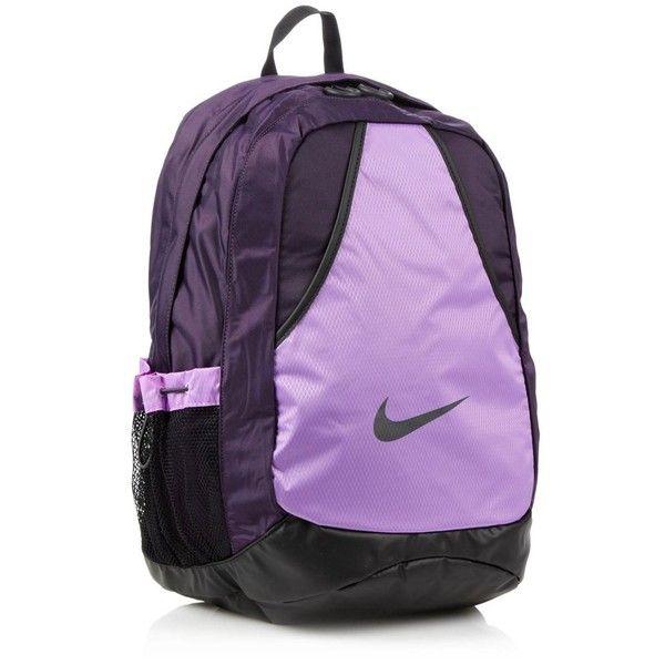 Nike purple Varsity backpack by None, via Polyvore