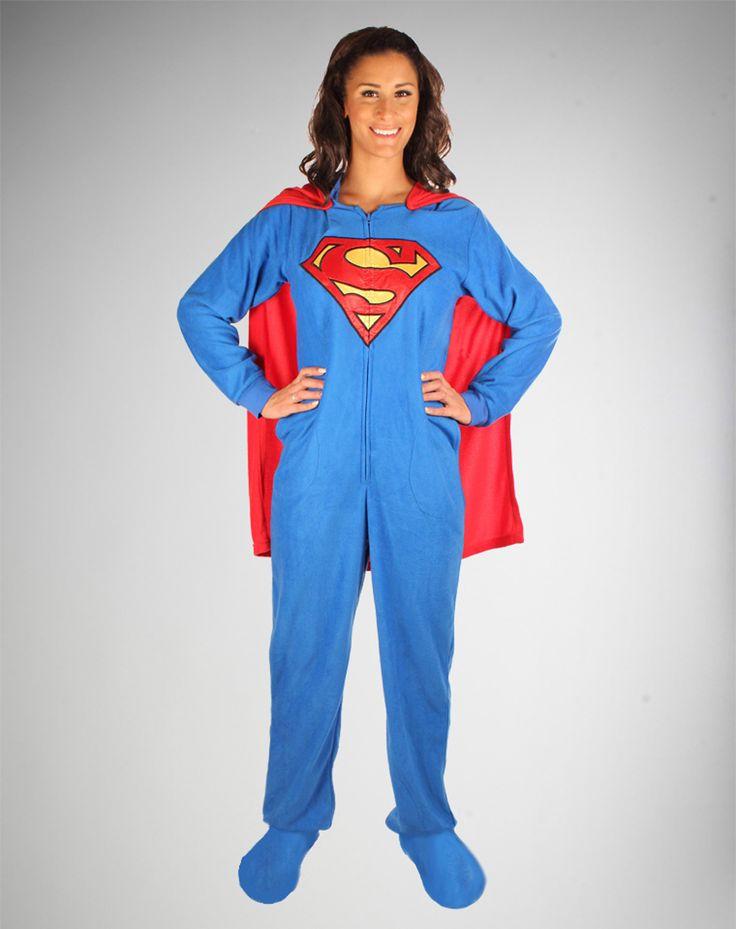 Adult superman pajamas