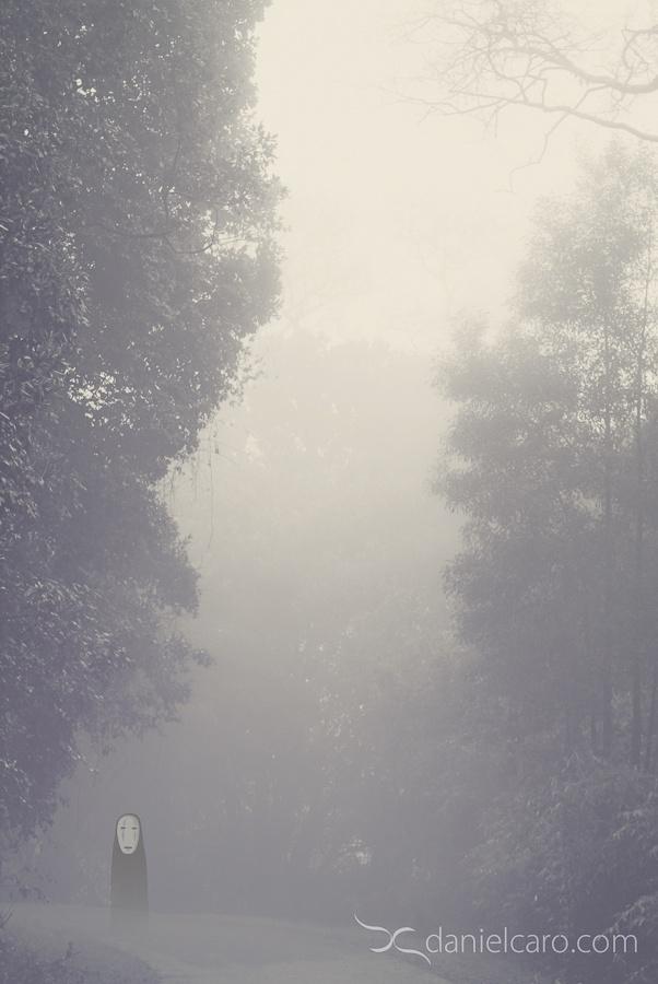 Cerro Ñielol, Temuco - El Viaje De Chihiro - Spirited Away - No-Face - www.danielcaro.com