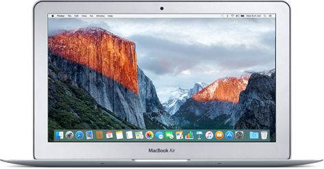 11 inch MacBook Air with 8gb memory and at least 256 GB storage.