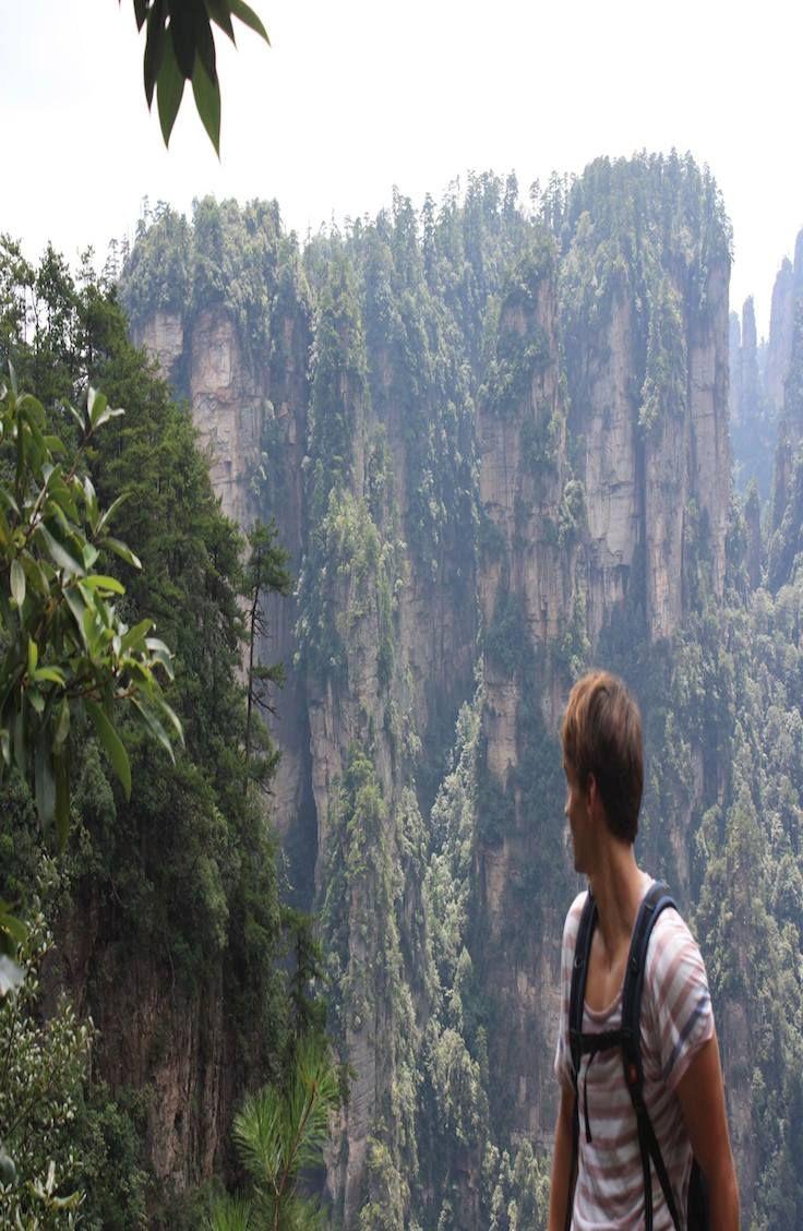 Complete guide to Avatar Mountain. Zhangjiajie, China.