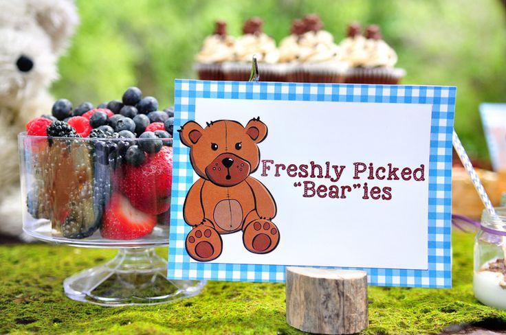 Teddy Bear Picnic Food Ideas