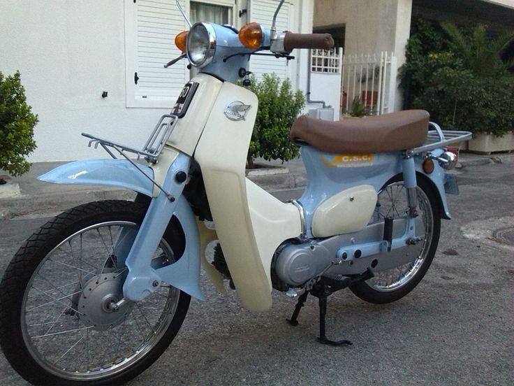 #honda #c50 #custom #cub