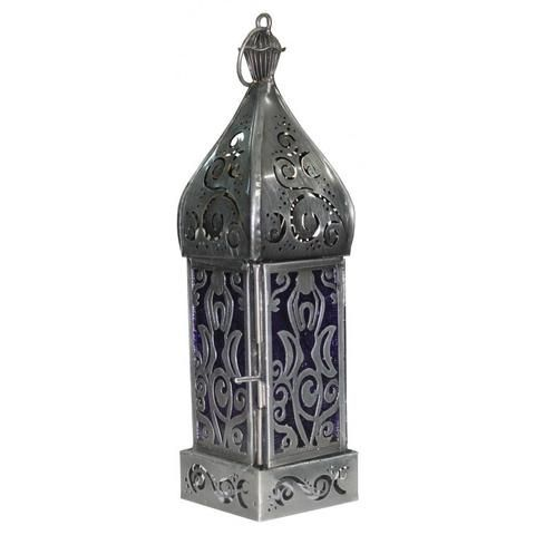Goddess Silver Metal Lantern - The Hippie House