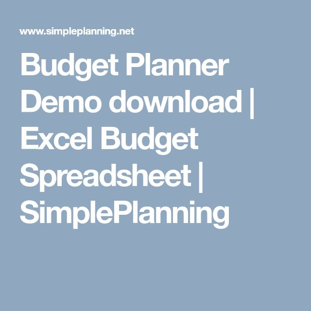 Best  Excel Budget Ideas On   Budget Spreadsheet