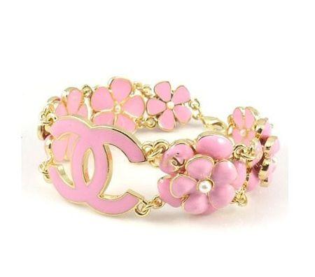 Pink Chanel Bracelet