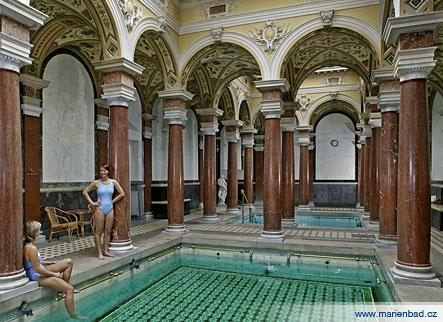 baths in marianski lasne,,,,funnies part of my travels!