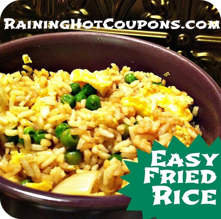 Simple Fried Rice Recipe!