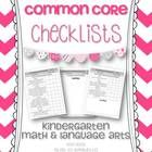 This 63 page pack is a resource pack to be used with the Kindergarten Common Core Math and Language Arts Standards. This is a great organizational ...