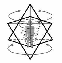 Merkabah es el vehículo de la luz divina utilizado por maestros ascendidos para conectarse y llegar a las personas en sintonía con los reinos superiores.