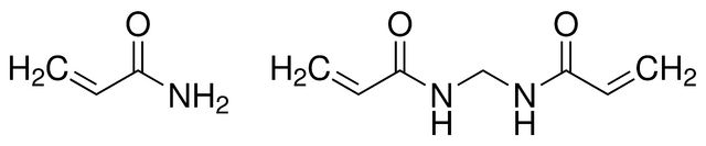 Acrylamide/Bis-acrylamide, 30% solution BioReagent, suitable for electrophoresis, 29:1 | Sigma-Aldrich