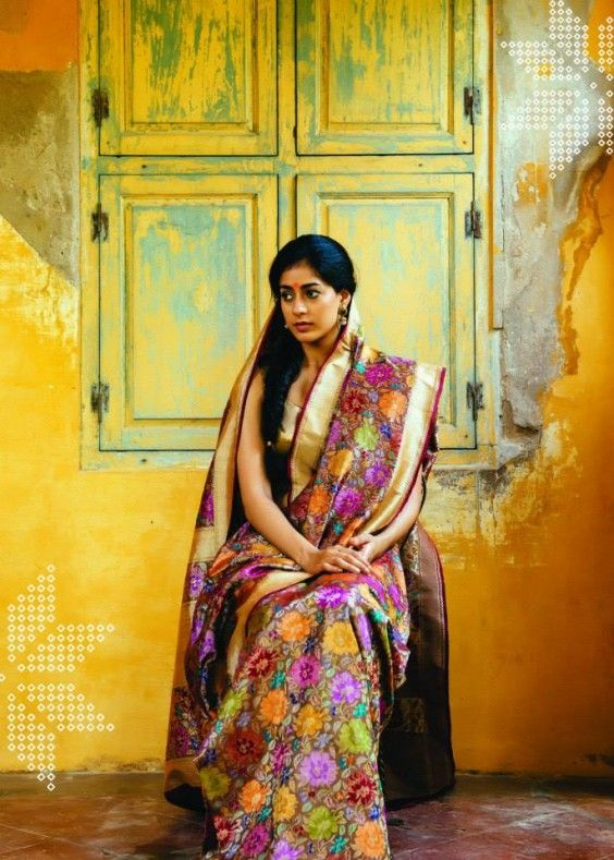 Uppada Benaras and Kanjeevarams by Vani Polavaram