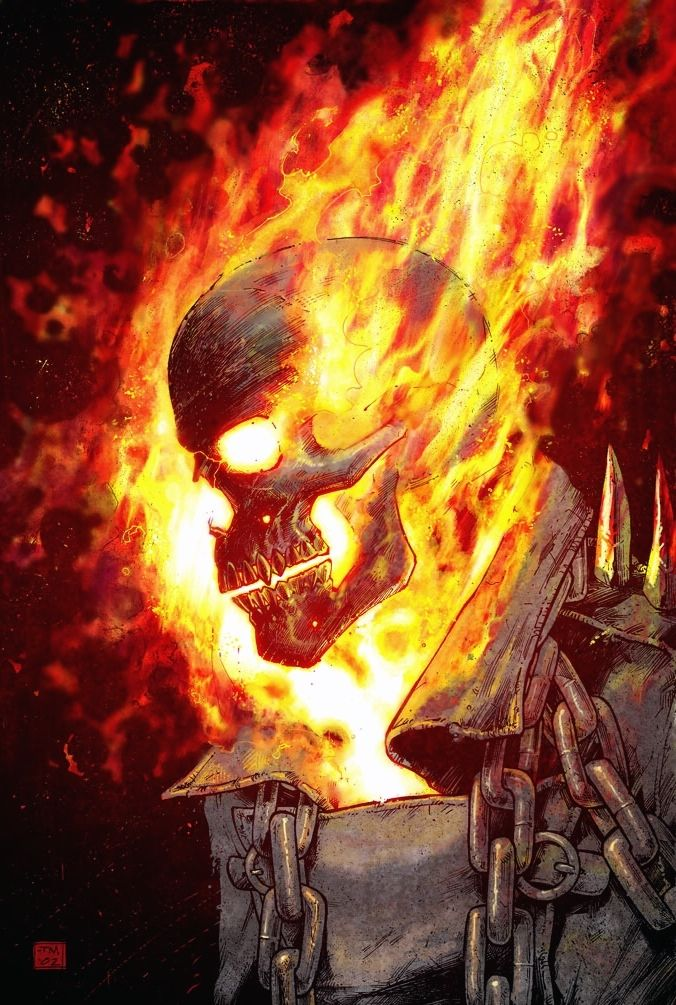 Johnny Blaze: Ghost Rider, by TonyMoore.Tumblr.com