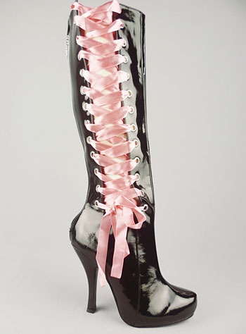 Hot!: Corsets, Heels, Shoes Boots Pumps Sneakers, Sexy Shoes, Black